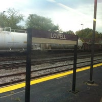 Photo taken at MBTA Lowell Station by John Wayne F. on 10/18/2011
