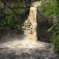 Photo taken at High Force Waterfall by Lily T. on 6/10/2012