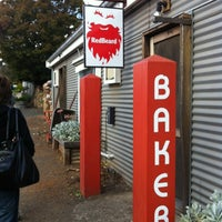 Photo taken at Red Beard Bakery by Neville W. on 4/6/2012