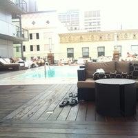 Photo taken at Kimpton Hotel Palomar San Diego by Ballast Point S. on 9/8/2012