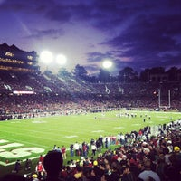 Photo taken at Stanford Stadium by Matt W. on 11/13/2011