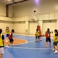 Photo taken at Serendra Basketball Court by Shinichi S. on 2/24/2012