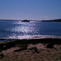 Photo taken at Mar Chiquita Beach, Manati Puerto Rico by LEO E. on 9/3/2011