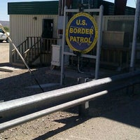 Photo taken at US Border Patrol Checkpoint by Christian U. on 9/6/2011