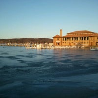 Photo taken at Geneva Lake by Babs on 2/18/2012
