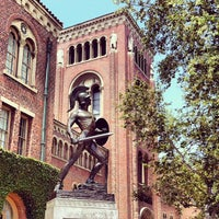 Photo taken at Tommy Trojan by Bryan on 5/13/2012
