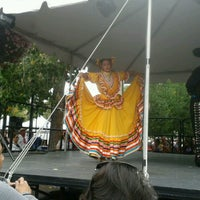Photo taken at Santa Fe Plaza by Felice G. on 9/8/2012