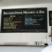Photo taken at Brothers Drake Meadery by Kyle L. on 7/30/2012