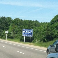Photo taken at Maine State Line by Diane M. on 6/1/2012