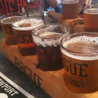 Photo taken at Rogue Ales Bayfront Public House by Gabe M. on 9/7/2012
