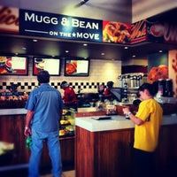 Photo taken at Mugg & Bean on the Move by Andy A. on 9/4/2012