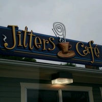 Photo taken at Jitters Café by Christina C. on 6/14/2012