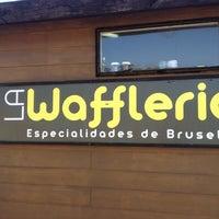 Photo taken at La Wafflería by Julio A. on 8/11/2012