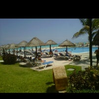 Photo taken at Occidental Vacation Club First Club Lounge At Allegro Playacar by Maxi T. on 4/28/2012