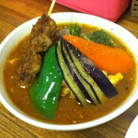 Photo taken at Soup Curry Kamui by かめひろ on 3/18/2012