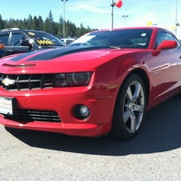 Photo taken at AutoNation Chevrolet Spokane Valley by Kevin R. on 4/14/2012