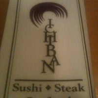 Photo taken at Ichiban Japanese Restaurant by Johnny R. on 3/1/2012