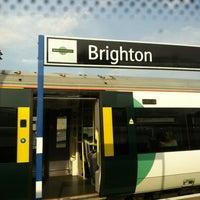 Photo taken at Brighton Railway Station (BTN) by Bashar Awadh on 5/20/2012