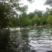 Photo taken at Barton Springs Spillway by Tyson H. on 6/3/2012