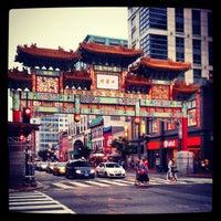 Photo taken at Chinatown Friendship Archway by Cassie W. on 5/27/2012