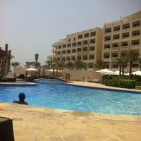 Photo taken at Sofitel Bahrain Zallaq Thalassa Sea & Spa by Nawaf A. on 7/17/2012