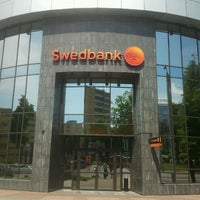 Photo taken at Swedbank by Martynas K. on 5/22/2012