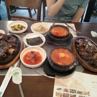 Photo taken at 청담순두부 by Sungjin L. on 5/30/2012