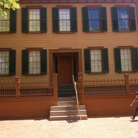 Photo taken at Lincoln Home National Historic Site by Stacey D. on 5/10/2012