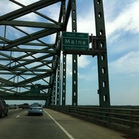 Photo taken at New Hampshire / Maine State Line by Eleanor N. on 8/3/2012