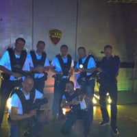Photo taken at LaserQuest by Leo d. on 3/9/2012