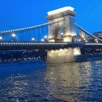 Photo taken at Chain Bridge by Ámon D. on 6/23/2012