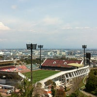 Photo taken at IAI Stadium Nihondaira by Mas W. on 4/17/2012