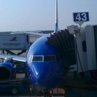 Photo taken at Gate 43 by Kyle on 8/30/2011