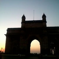 Photo taken at Gateway of India by 2pong on 1/20/2012