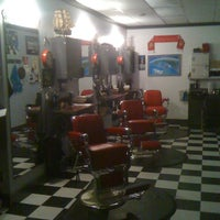 Photo taken at Ragged Ass Barbers by Steve P. on 11/26/2011