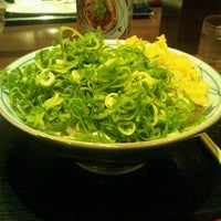 Photo taken at Marugame Seimen by Satoru A. on 10/26/2011