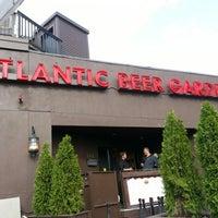 Photo taken at Atlantic Beer Garden by Yervant K. on 9/2/2012