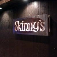 Photo taken at Skinny's Lounge by luke d. on 1/17/2012