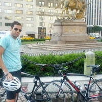 Photo taken at Grand Army Plaza by Nick B. on 7/24/2012