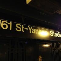 6/6/2012 tarihinde Luiz M.ziyaretçi tarafından MTA Subway - 161st St/Yankee Stadium (4/B/D)'de çekilen fotoğraf