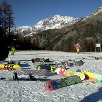 Photo taken at Chiesa In Valmalenco by Dave B. on 12/8/2011