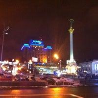 Снимок сделан в Гостиница «Украина» пользователем Olivier V. 1/15/2012