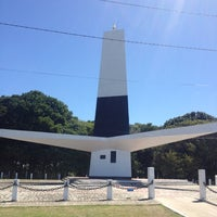 Photo taken at Farol do Cabo Branco by Lincoln D. on 8/11/2012