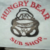 Photo taken at Hungry Bear Sub Shop by Edward E. on 1/18/2012
