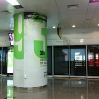 Photo taken at Gangnam Stn. by yoly z. on 1/15/2012