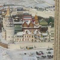 Photo taken at VEGA Izmailovo Hotel by Afonso A. on 2/20/2012
