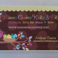 Photo taken at Mama Cimino Knits & Bits by Andrea C. on 5/24/2011