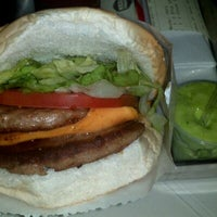 Photo taken at Mega Burger's by Leonardo R. on 9/2/2011