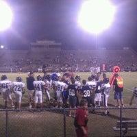 Photo taken at MHS football stadium by David M. on 10/14/2011