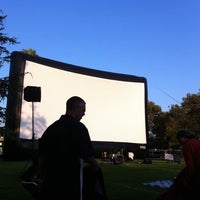 Photo taken at Outdoor Cinema Food Fest by Mike V. on 8/14/2011